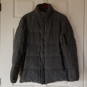 Theory wool and down filled jacket